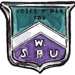 WSPU BADGE