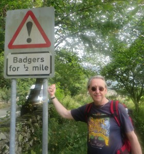 Badgers for half a mile!