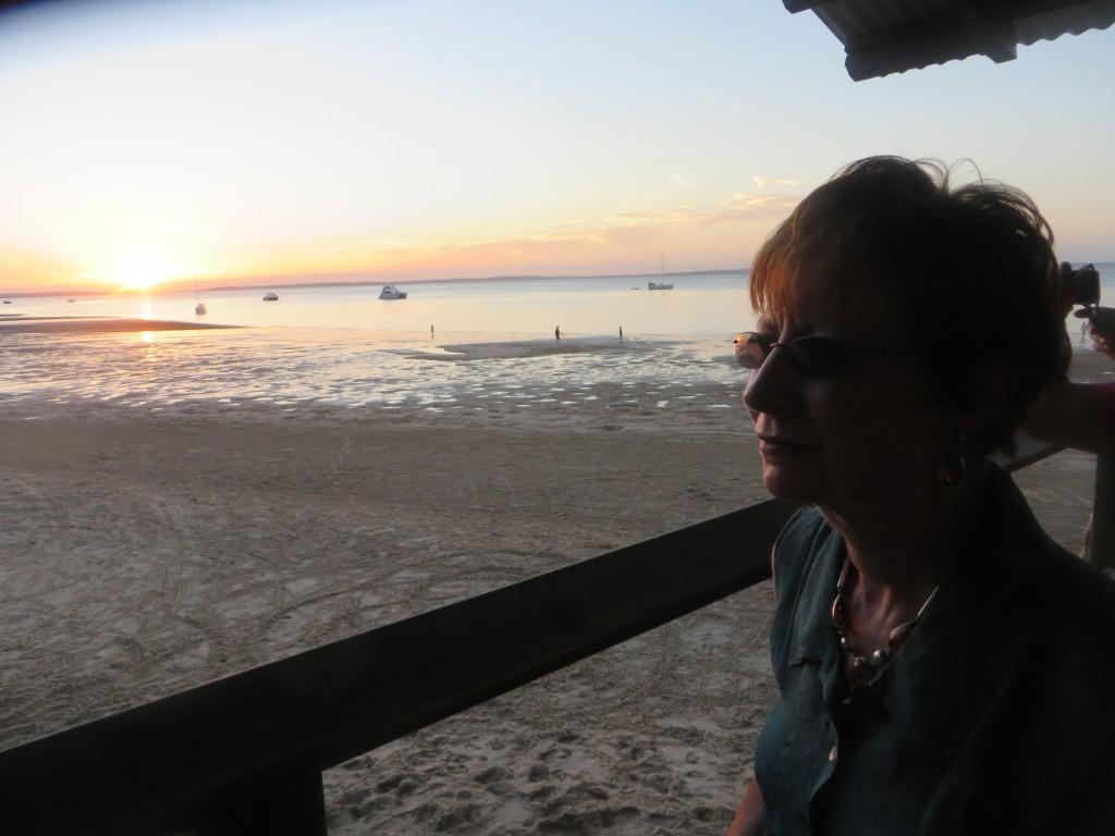 Jetty Hut sunset