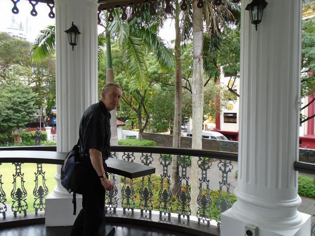 Sun Yat Sen Hall balcony