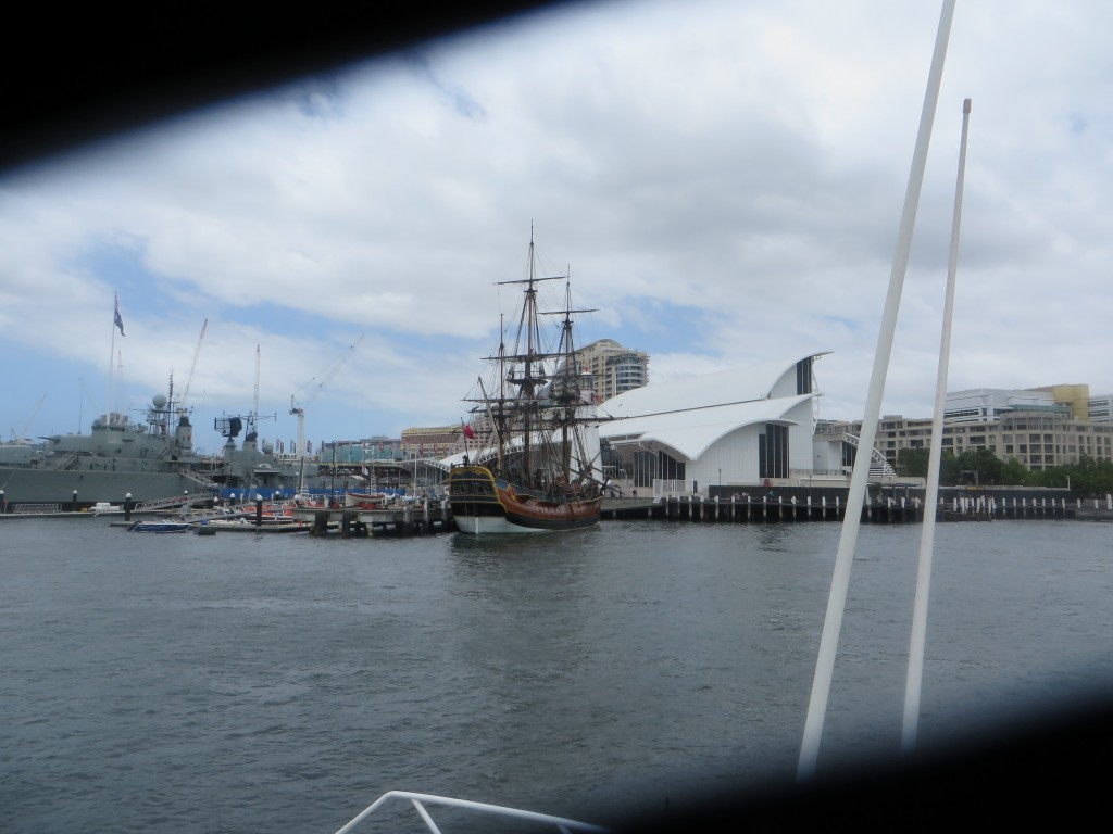Sydneyferry tallship