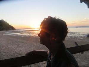 sunset at Jetty Hut