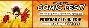 SanDiegoComicFest logo