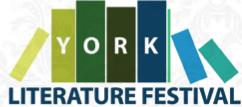 York litfest logo