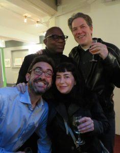 Woodrow Phoenix, Rian Hughes, Hannah Berry's partner Xav, Megan Donnelly